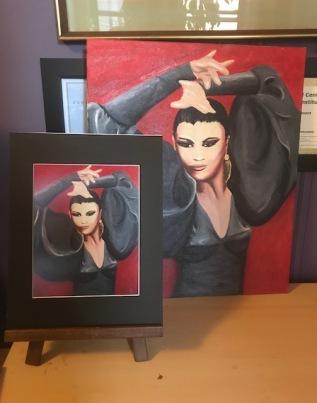 Flamenco print